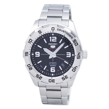 세이코 5 오토메틱 남성 시계 Seiko 5 Automatic Black Dial Stainless Steel Mens Watch SRPB79J1