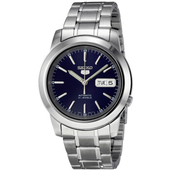 세이코 시계 Seiko Series 5 Automatic Blue Dial Mens Watch SNKE51