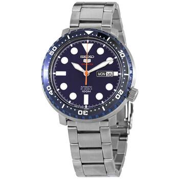 세이코 시계 Seiko 5 Sports Automatic Blue Dial Mens Watch SRPC63J1