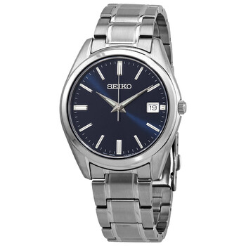 세이코 클래식 쿼츠 남성 손목 시계 Seiko Classic Quartz Blue Dial Mens Watch SUR309P1