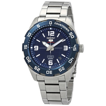 세이코 시계 Seiko Series 5 Automatic Blue Dial Mens Watch SRPB85