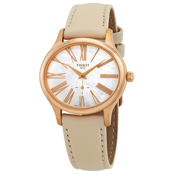 Deals on Tissot Bella Ora Mother of Pearl Dial Ladies Watch