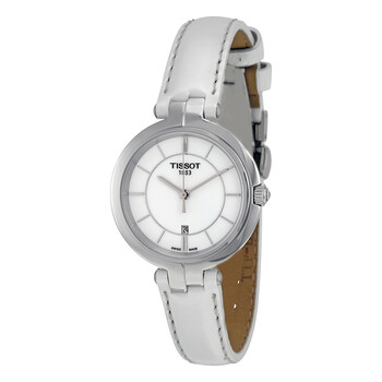 티쏘시계 Tissot Flamingo White Dial Ladies Watch T0942101601100
