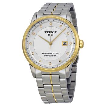 티쏘 시계 Tissot Luxury Automatic Silver Dial Mens Watch T086.408.22.036.00