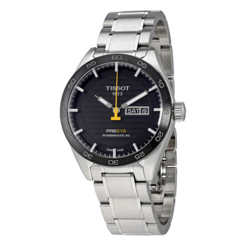티쏘 남성 시계 Tissot PRS 516 Automatic Black Dial Mens Watch T100.430.11.051.00