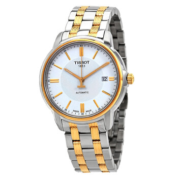 티쏘 남성 시계 Tissot T-Classic Automatic III White Dial Mens Watch T065.407.22.031.00