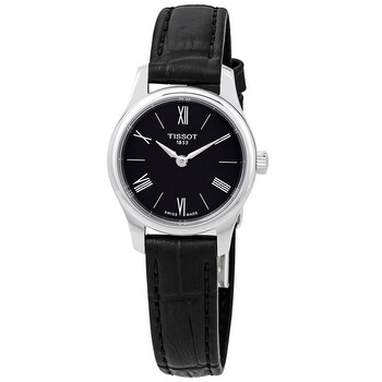 티쏘시계 Tissot Tradition 5.5 Black Dial Ladies Watch T0630091605800