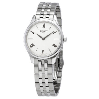 티쏘시계 Tissot Tradition 5.5 Quartz Silver Dial Ladies Watch T063.209.11.038.00