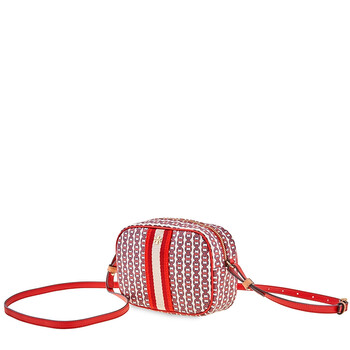 Tory Burch Gemini Lnk Mini Bag- Red