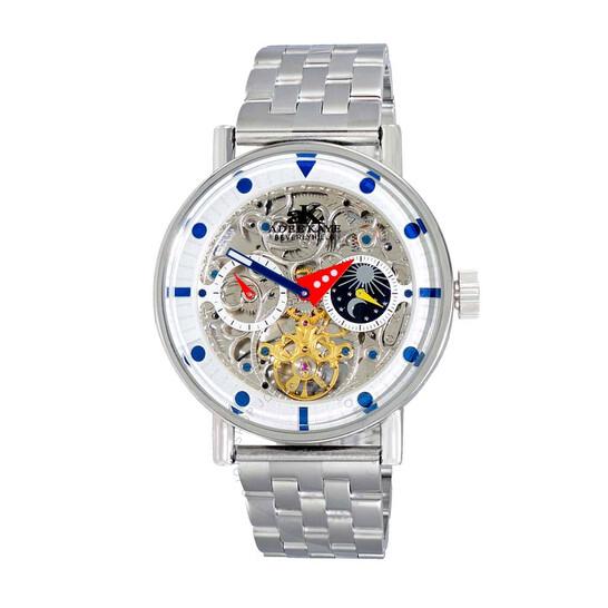 Adee Kaye AK2266 Automatic Men's Watch AKJ2266-010SV   Joma Shop
