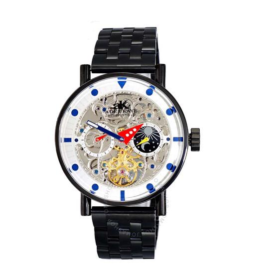 Adee Kaye AK2266 Automatic Men's Watch AKJ2266-030IPBK   Joma Shop