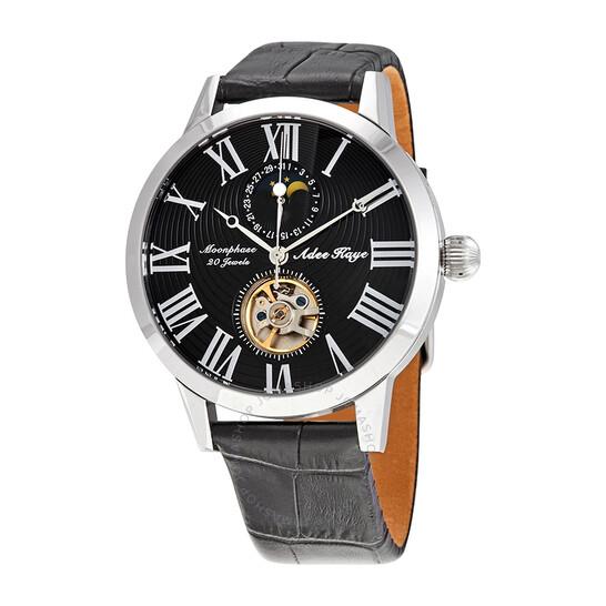Adee Kaye AK2269 Automatic Black Dial Men's Watch AKJ2269-014-BK | Joma Shop