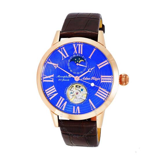 Adee Kaye AK2269 Automatic Blue Dial Men's Watch AKJ2269-021-RGBU | Joma Shop