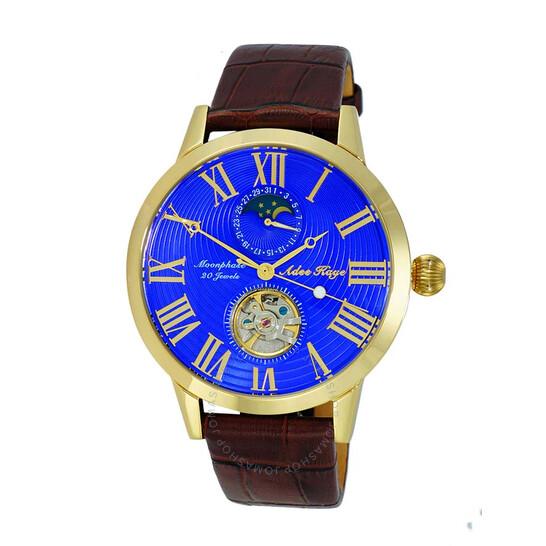 Adee Kaye AK2269 Automatic Blue Dial Men's Watch AKJ2269-018-GBU   Joma Shop