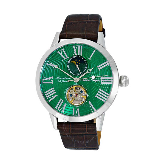 Adee Kaye AK2269 Automatic Green Dial Men's Watch AKJ2269-011-GN | Joma Shop