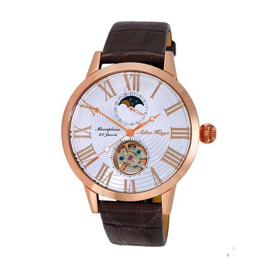 Adee Kaye AK2269 Automatic White Dial Men's Watch AKJ2269-020-RGWT   Joma Shop