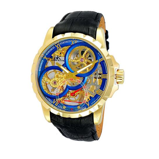 Adee Kaye AK5664 Blue Dial Men's Watch AKJ5664-0MGBU | Joma Shop