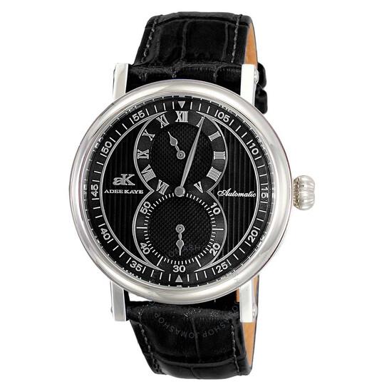 Adee Kaye AK5665 Automatic Black Dial Men's Watch AKJ5665-0MBK-BK | Joma Shop