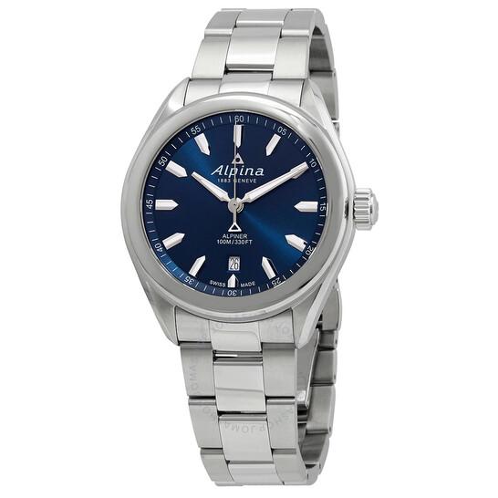 Alpina Alpiner Quartz Blue Dial Men's Watch (AL-240NS4E6B)