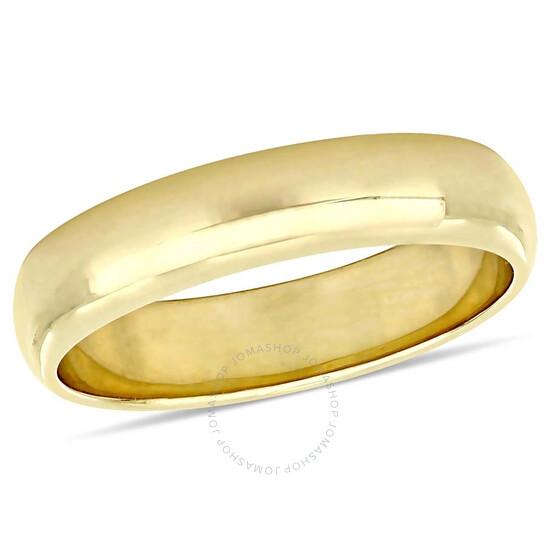 Amour 10K Yellow Gold 5 mm Men's Wedding Band JMS005380-1200 | Joma Shop