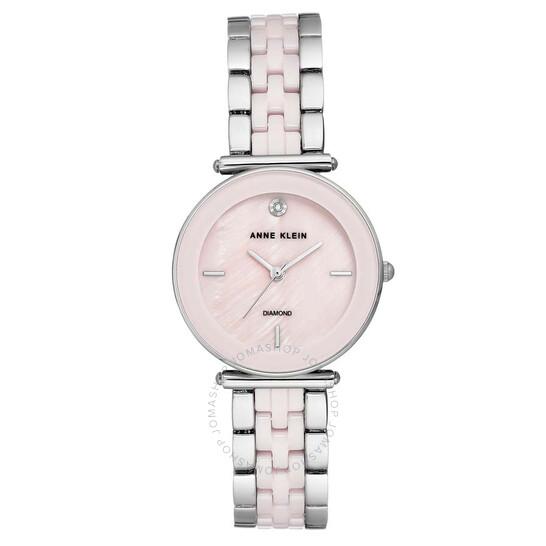 Anne Klein Light Pink Dial Ladies Watch 3159LPSV   Joma Shop