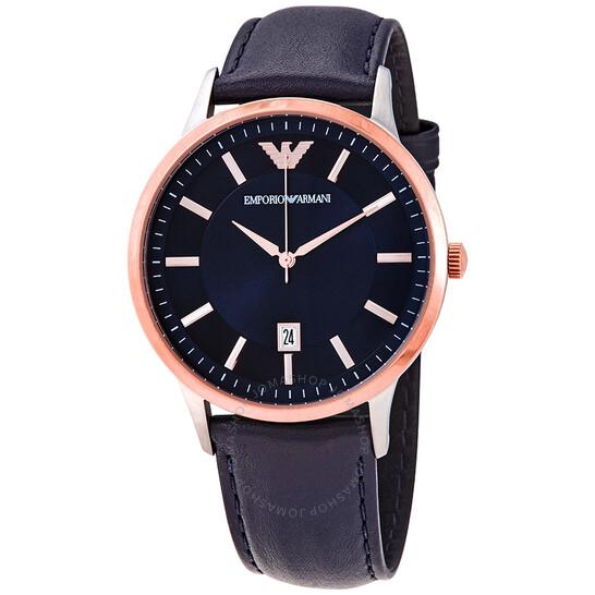 Emporio Armani Armani Renato Quartz Blue Dial Men's Watch AR11188 | Joma Shop
