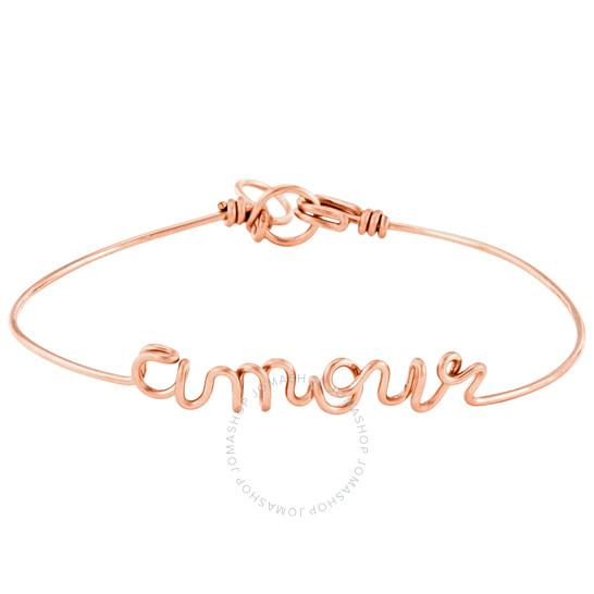 Atelier Paulin Ladies Rose Gold Bracelet Amour, Brand Size X-Small   Joma Shop