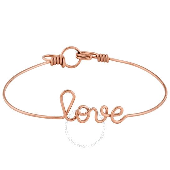 Atelier Paulin Ladies Gold Bracelet Love Gold Yellow, Brand Size Medium | Joma Shop