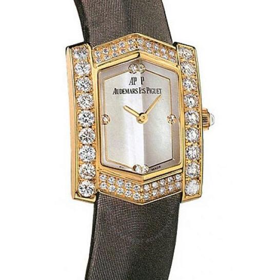 Audemars Piguet Facettes Diamond 18 kt Yellow Gold Ladies Watch 67491BA.ZZ.A080SU.01 | Joma Shop