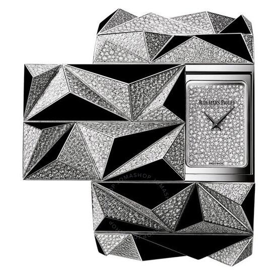 Audemars Piguet Haute Joaillerie Diamond Punk Diamond Pave Dial Ladies 18 Carat White Gold Watch 79419BC.ZO.9189BC.01 | Joma Shop