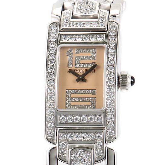 Audemars Piguet Promesse Diamond 18 kt White Gold Ladies Watch 67406BC.ZZ.1182BC.01 | Joma Shop