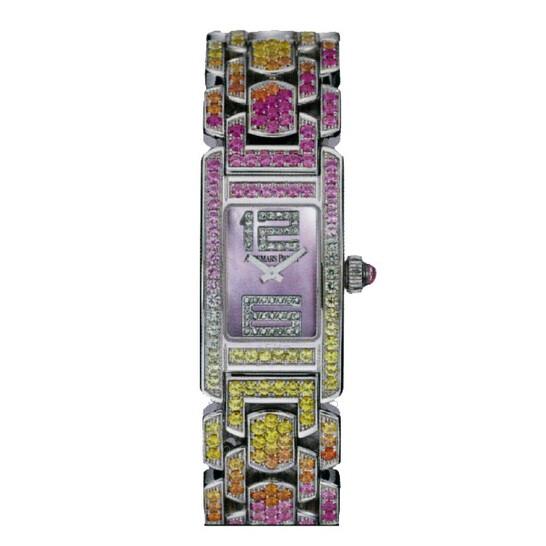 Audemars Piguet Promesse Multi-Colored Sapphire White Gold Ladies Watch 67465BC.YY.1189BC.01   Joma Shop