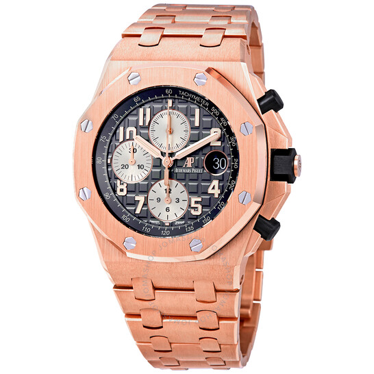 Audemars Piguet Royal Oak Offshore 18-carat Pink Gold Chronograph Automatic Men's Watch 26470OR.OO.1000OR.02   Joma Shop
