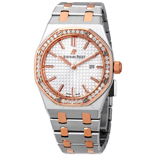 Audemars Piguet Royal Oak Silver Dial Ladies Watch 67651SR.ZZ.1261SR.01   Joma Shop