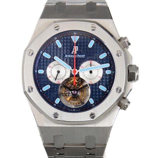Audemars Piguet Royal Oak Tourbillon Blue Dial Stainless Steel Men's Watch 25977STOO1205ST01 | Joma Shop