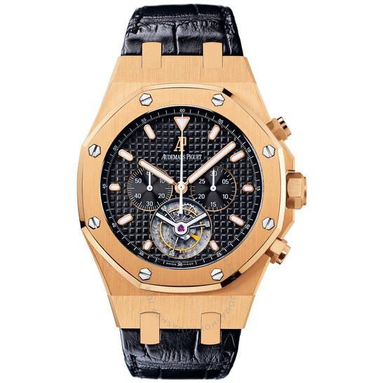 Audemars Piguet Royal Oak Tourbillon Chronograph 18 kt Rose Gold Men's Watch 25977OR.OO.D002CR.01 | Joma Shop