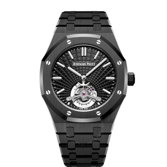 Audemars Piguet Royal Oak Tourbillon Extra-thin Automatic Black Dial Men's Watch 26522CE.OO.1225CE.01 | Joma Shop