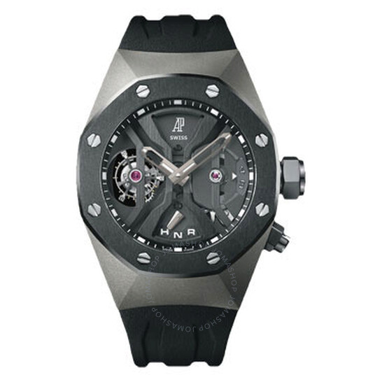 Audemars Piguet Tourbillon Concept Openworked Dial GMT Titanium Men's Watch 26560IO.OO.D002CA.01   Joma Shop