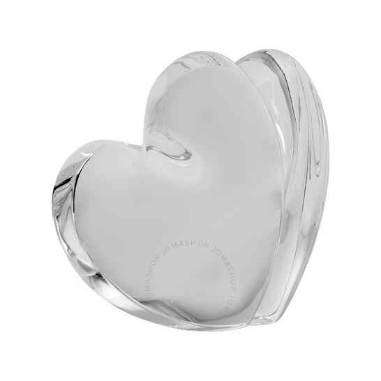 Baccarat Crystal Clear ZinZin Heart Large 2103966 | Joma Shop