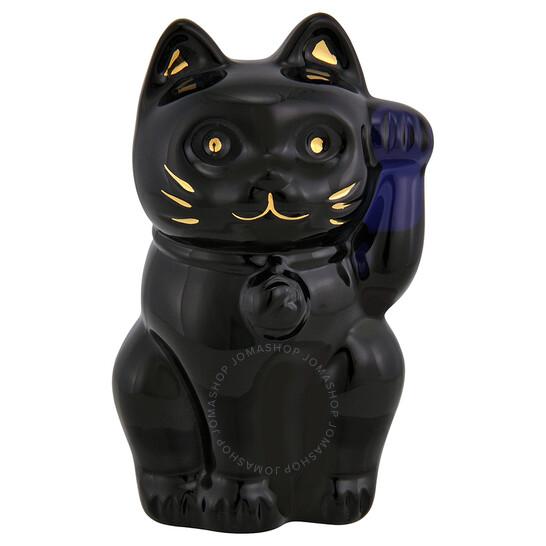 Baccarat Lucky Cat Midnight Figurine 2607787 | Joma Shop