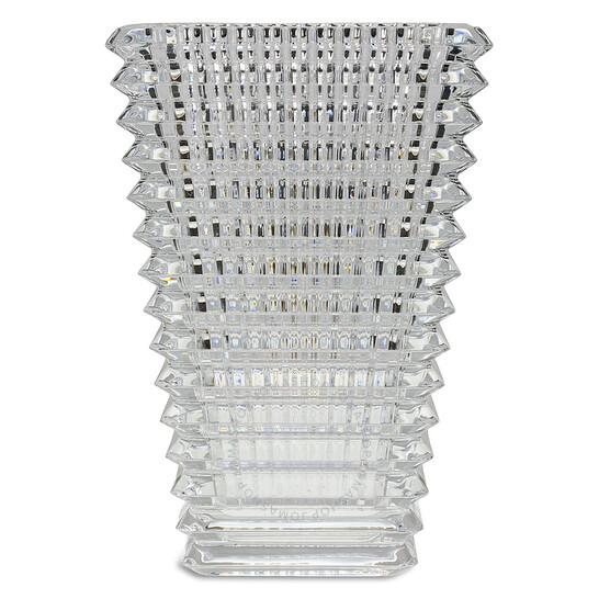 Baccarat Small Rectangular Eye Vase   Joma Shop