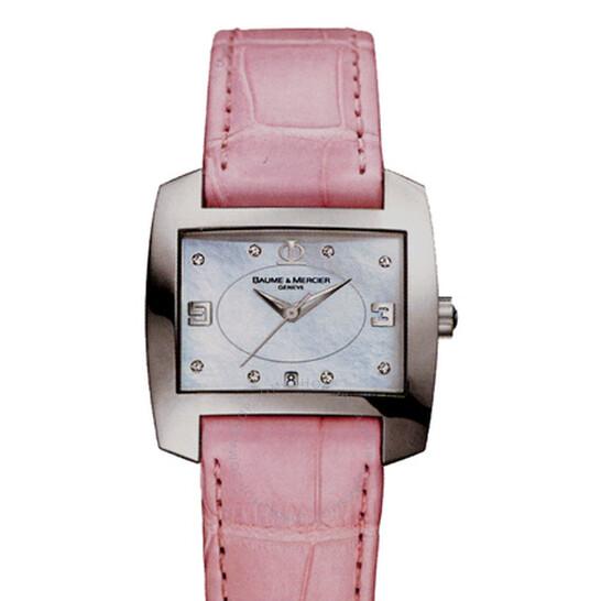 Baume Et Mercier Baume and Mercier Hampton City Ladies Watch 08516   Joma Shop
