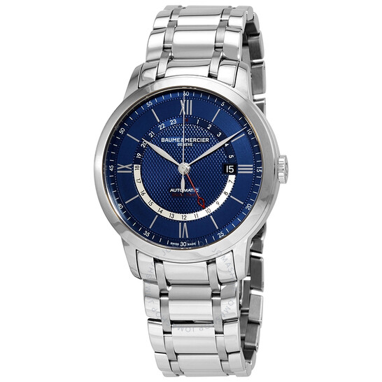 Baume Et Mercier Classima Automatic Blue Dial Men's Watch 10483 | Joma Shop
