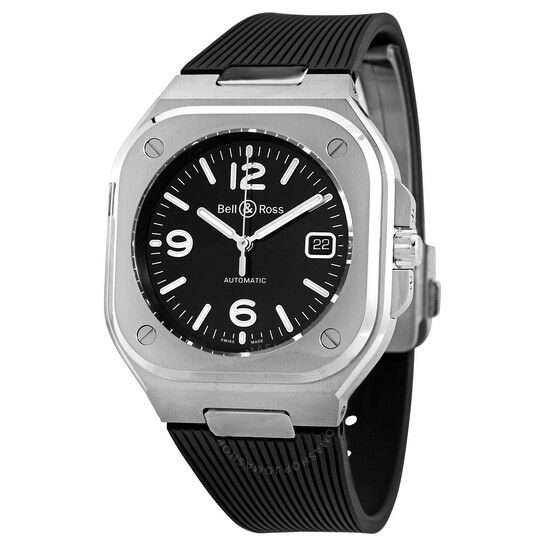 Bell And Ross Automatic Black Dial Men's Watch BR05A-BL-ST/SRB | Joma Shop