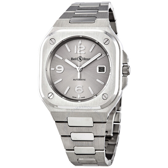 Bell And Ross BR 05 Automatic Silver Dial Men's Watch BR05A-GR-ST/SST | Joma Shop