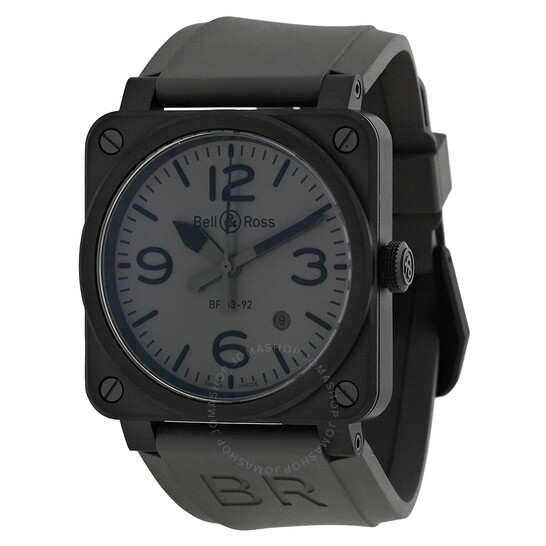 Bell And Ross Commando Automatic Grey Dial Men's Watch R0392-COMMANDOCE   Joma Shop