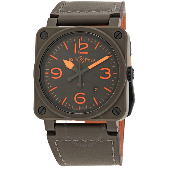 Bell And Ross MA-1 Pilot Automatic Men's Watch BR0392-KAO-CE/SCA | Joma Shop
