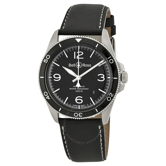 Bell And Ross Vintage Automatic Black Dial Men's Watch BRV292-BL-ST | Joma Shop