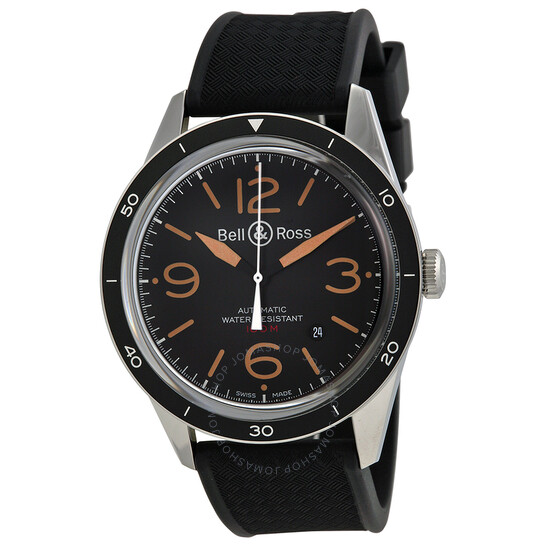 Bell And Ross Vintage Sport Automatic Men's Watch RBRV123-ST-HER-SRB   Joma Shop