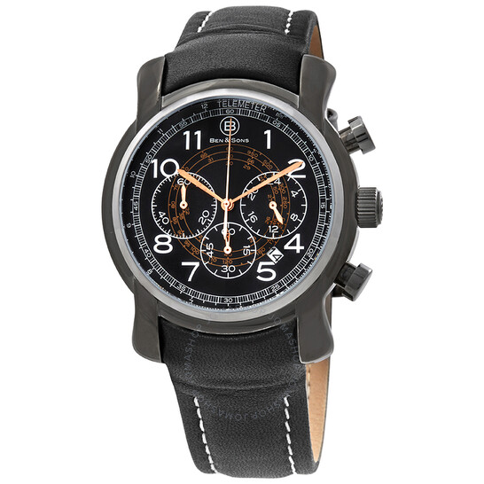 Ben And Sons Mercury GMT Chronograph Men's Watch 10013-GM-01-RGWA   Joma Shop